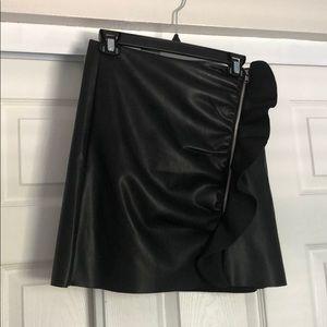 Nasty Gal Vegan Leather Skirt